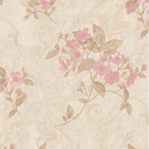 Giấy dán tường Avenue hoa bông giấy hồng