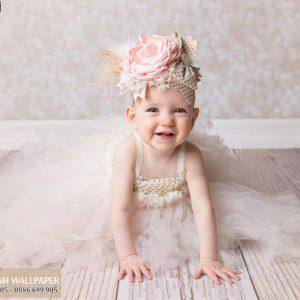 tranh dán tường 3d baby cute zê zương