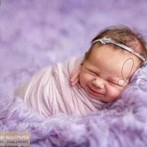 tranh dán tường baby dễ thương