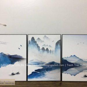 Tranh treo tường sơn thủy