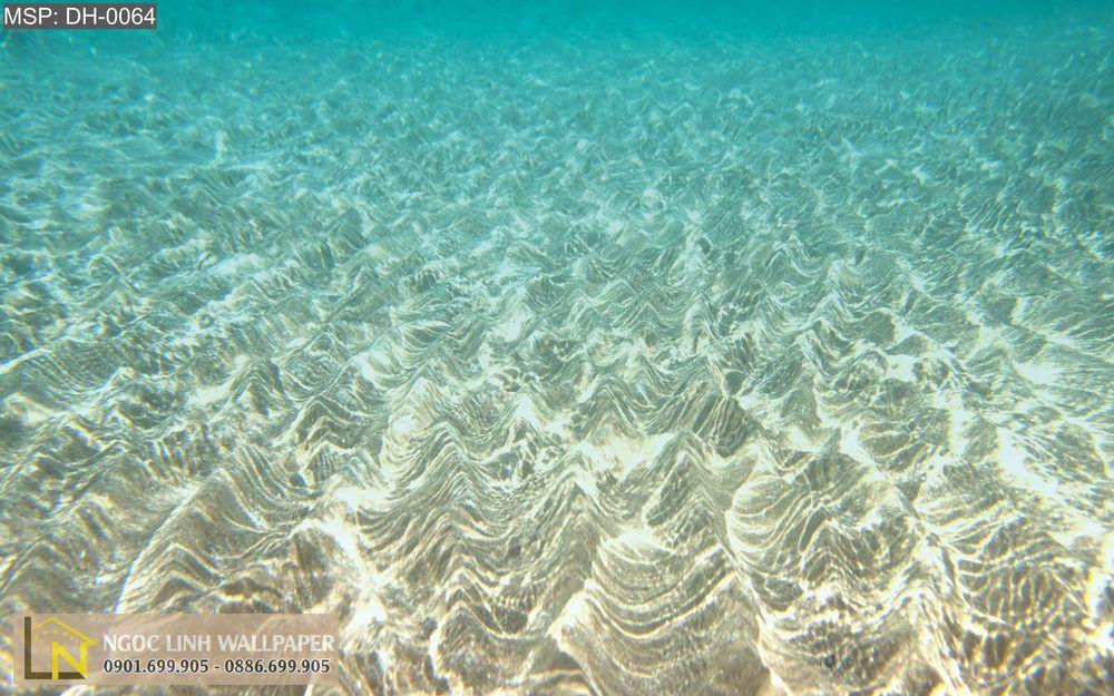 Tranh 3d phong cảnh biển mặt nước trong