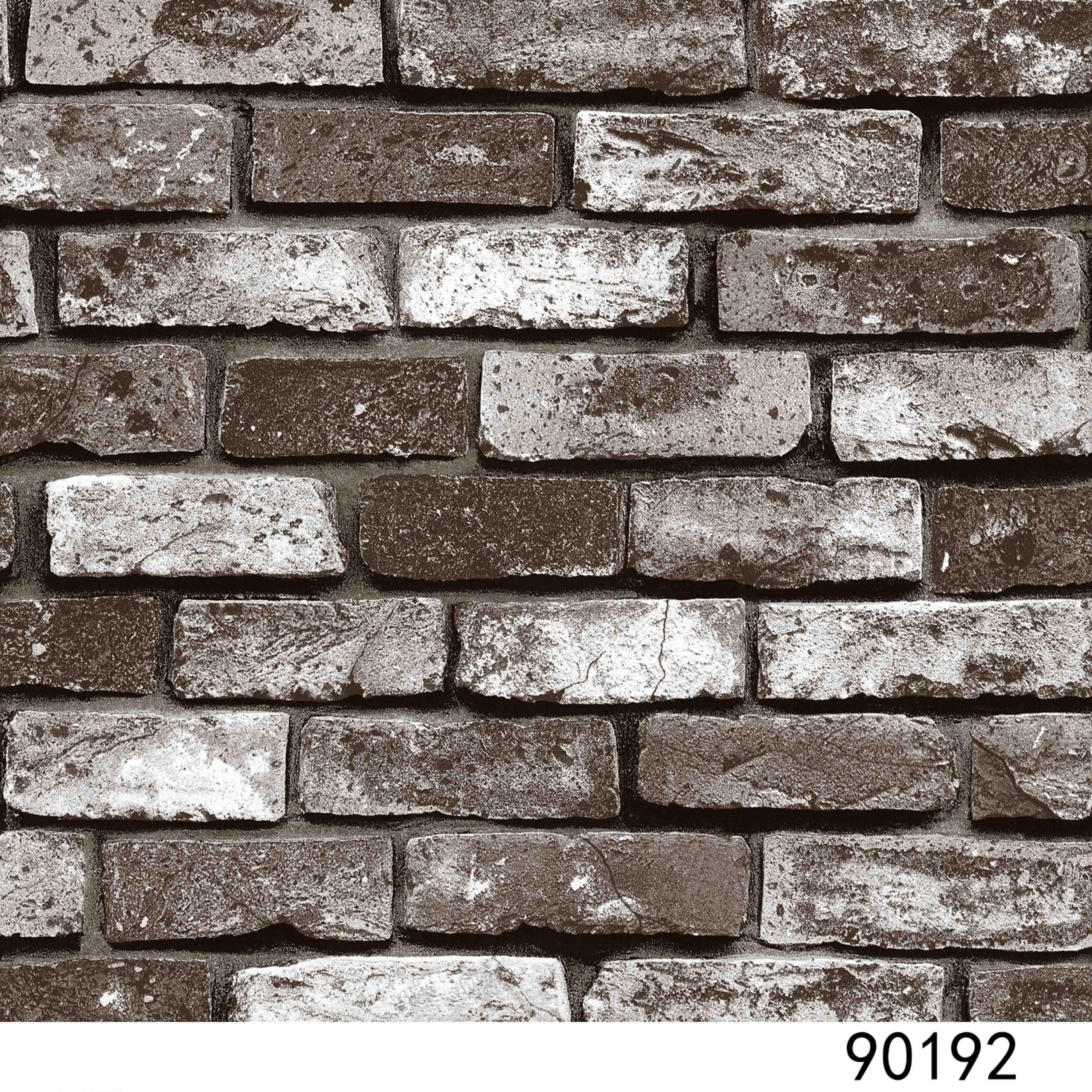 Giấy dán tường hàn quốc interior giả đá 90192