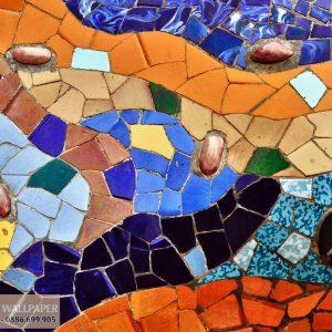 Tranh dán sàn nhà đá gạch men bể đẹp