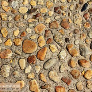 Tranh 3d dán tường sàn nhà giả đá